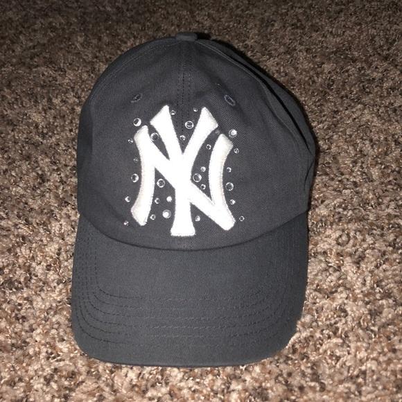 e711f163 Victoria's Secret PINK NY Yankees Hat